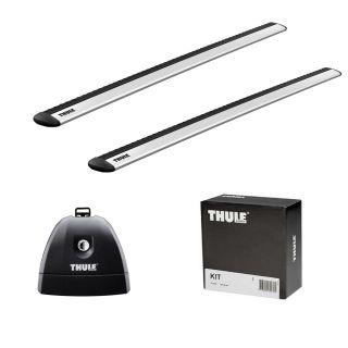 Solución Thule Wingbar Grey Bmw 3-Series 4-Dr Sedan Año 98-01